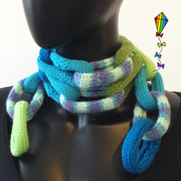 Spearmint Chain Scarf for Kids - Children's Scarf