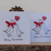Christmas Ducks Card Pack