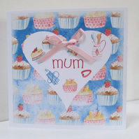 Baking Card for Mum