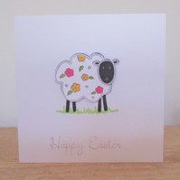 Easter Sheep Card