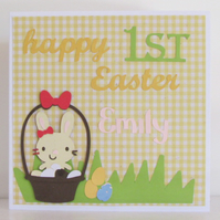 Happy First Easter Card