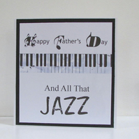 All That Jazz Father's Day Card