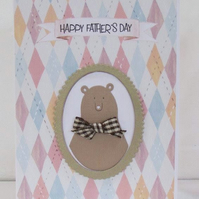 Father Bear Father's Day Card