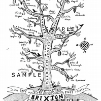 Tree Map of Brixton Pubs and Cafes (2012)