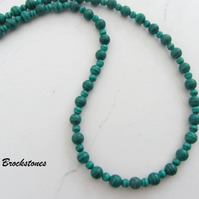 Malachite birthstone necklace Capricorn Scorpio
