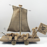 Primitive Driftwood Pirates