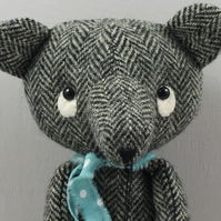 Harris Tweed Bear