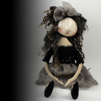 Doll (with paper clay face)