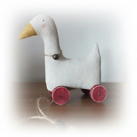 Little Primitive Goose pull toy