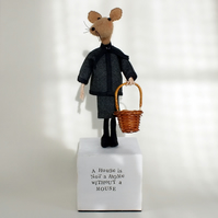 Mouse soft Sculpture