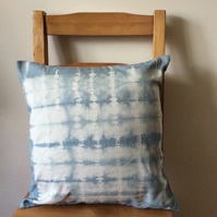 Tie dyed cushion cover