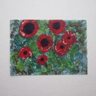 Aceo-poppies