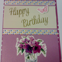 sale Happy Birthday card