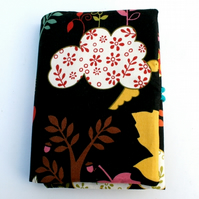 Children's travel art case - Woodland Black (incl crayons & pad)