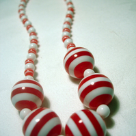 Gob-stopper Necklace OOAK