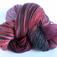 Sea Sprite Merino/ Silk 4 Ply Sock Yarn. My Weird Valentine