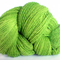 Firebrand. Tweed Merino Sock Yarn. Spring Greens