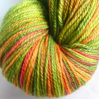 Northern Star, Luxurious BFL/Silk/Cashmere Sock Yarn. Elves