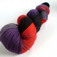 Solstice Gothic Spring Tide Sock Yarn. Don't Look Now!