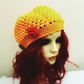 Teen Crochet Chloe Hat Buttercup Yellow Small Adult