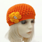 3 to 8   year Orange Chloe Hat
