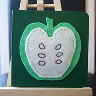 Green apple card