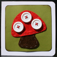 Toadstool card