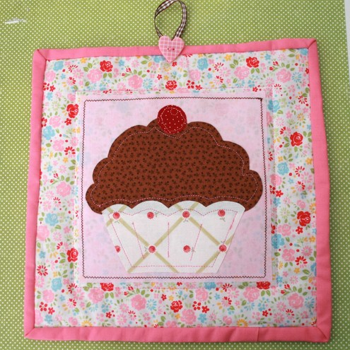 Chocolate Cupcake placemat