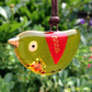 Fused Glass Bird Necklace