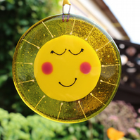 Fused glass Sunshine
