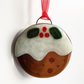 Glass Christmas Pudding