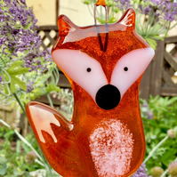 Fused Glass Fox