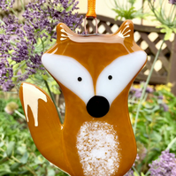 Opaque Fused Glass Fox