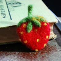 Yummy strawberry Brooch