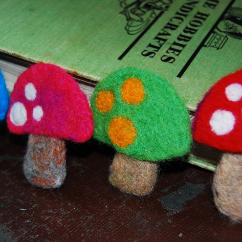 Magic Toadstool brooches :)