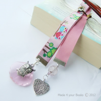 Owl Embroidery Ribbon Bookmark