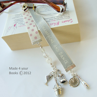 Time to Drink Champagne & Dance on the table bookmark