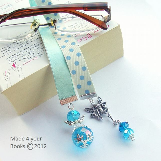 Fairytale Ice fairy ribbon bookmark