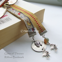 Game of thrones ribbon bookmark