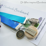 Dr Who inspired bookmark
