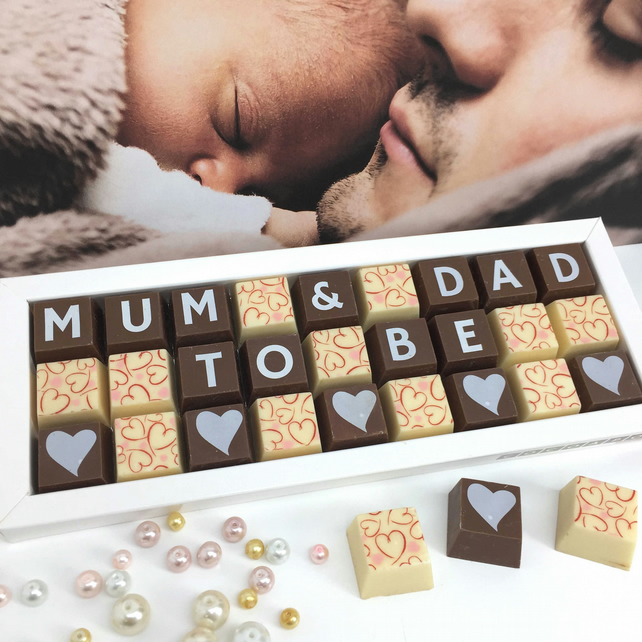 Mum and Dad To Be Chocolate Gift
