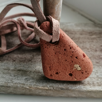 Sea Terracotta Pendant 06