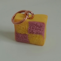 Fimo clay battenberg charm
