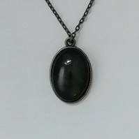 Marble pendant necklace