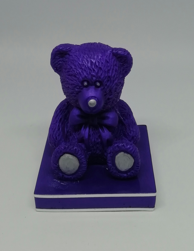 Resin bear figurine