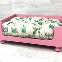 Extra Small Wooden Dog Bed