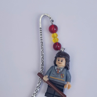 Hermione Granger figure bookmark, harry potter inspired bookmark book gift