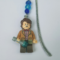 Matt smith dr who time lord figure bookmark