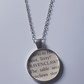 Ravenclaw Harry Potter book cameo necklace