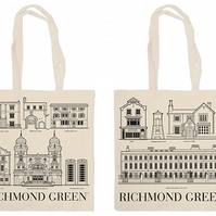 RICHMOND GREEN Organic cotton shopping bag